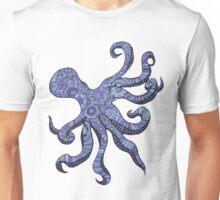Mehndi Octopus Unisex T-Shirt