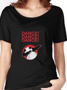 dancing panda Women's Relaxed Fit T-Shirt