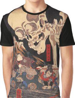 Mitsukuni defying the skeleton spectre Graphic T-Shirt