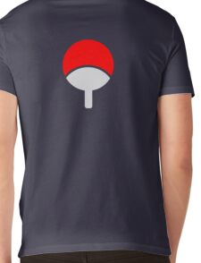 uchiha Mens V-Neck T-Shirt