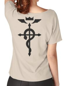 Flamel's Cross Fullmetal Alchemist Women's Relaxed Fit T-Shirt