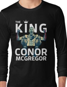 Conor Mcgregor - The King Long Sleeve T-Shirt