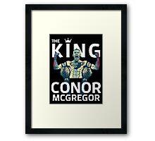 Conor Mcgregor - The King Framed Print
