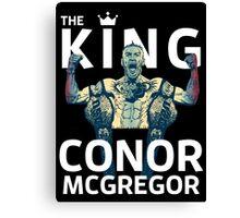 Conor Mcgregor - The King Canvas Print