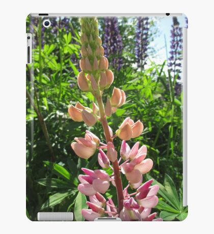 Lovely Lupins iPad Case/Skin