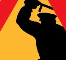 Attention brutalité policière Sticker