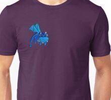 Blue Flying Dragon Unisex T-Shirt