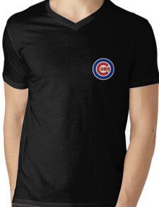 Cubs Baseball Premium Design Mens V-Neck T-Shirt