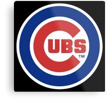 Cubs Baseball Premium Design Metal Print