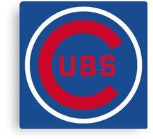 Cubs Baseball Premium Quality Canvas Print