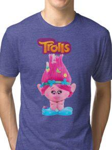 poppy from trolls Tri-blend T-Shirt