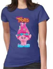 poppy from trolls Womens Fitted T-Shirt