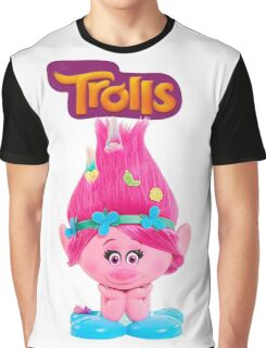 poppy from trolls Graphic T-Shirt