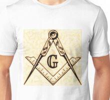 Freemason Symbolism by Pierre Blanchard Unisex T-Shirt