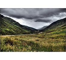 Welcome to Scotland Photographic Print
