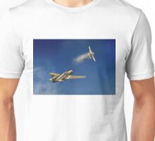 Six miles high Unisex T-Shirt