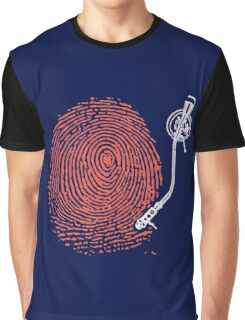 Dj fingerprint Graphic T-Shirt