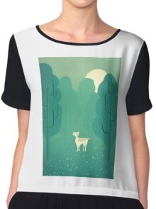 Goat forest Chiffon Top