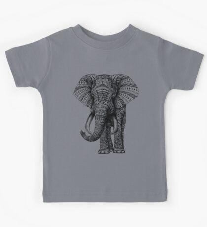 Ornate Elephant Kids Tee