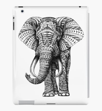 Ornate Elephant iPad Case/Skin