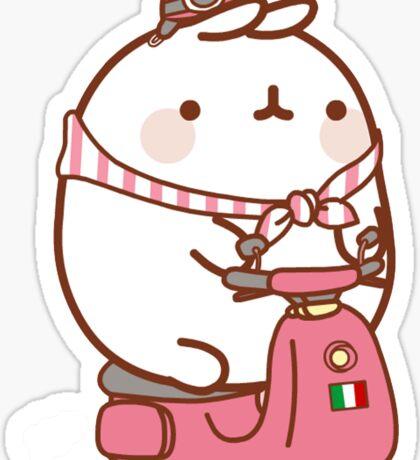 Italy Hamster Sticker