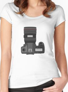 Canon 5D Women's Fitted Scoop T-Shirt