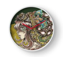 Steam-girl Clock