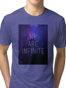 We Are Infinite Gradient Tri-blend T-Shirt