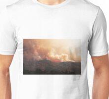 Black Bart Wildfire near Lake Mendocino Unisex T-Shirt
