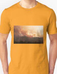 Black Bart Wildfire near Lake Mendocino T-Shirt