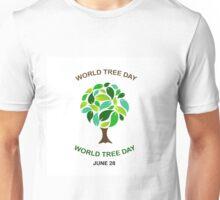World tree day june 28  Unisex T-Shirt