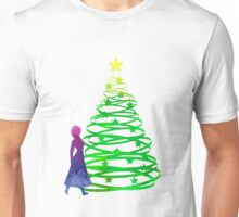 Christmas Princess Inspired Silhouette Unisex T-Shirt