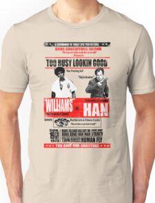 Enter the Dragon - Williams vs Han Unisex T-Shirt