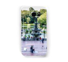 Central Park, Bethesda Terrace, New York Samsung Galaxy Case/Skin