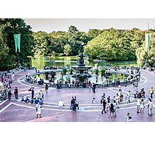 Central Park, Bethesda Terrace, New York Photographic Print