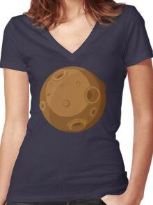 Meteorite Women's Fitted V-Neck T-Shirt