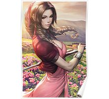 Aerith Final Fantasy Poster