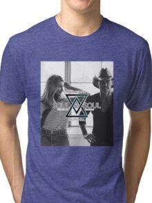 Tim McGraw & Faith Hill Tour 2017 GS34 Tri-blend T-Shirt