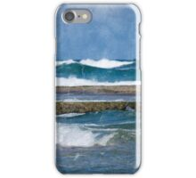 A Swim At The Beach iPhone Case/Skin