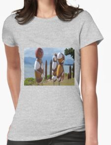 Beachfront people ,Cardwell , North Queensland Womens Fitted T-Shirt