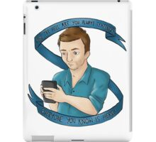 Jeff Winger iPad Case/Skin