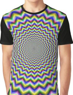Crinkle Cut Psychedelia Graphic T-Shirt