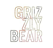 Grizzly Bear Band Design (Veckatimest) by slippi