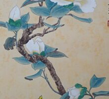 White Hibiscus Sticker
