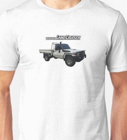 Toyota Landcruiser 79 Single Cab Unisex T-Shirt