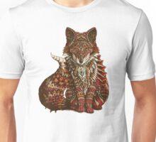 Red Fox (Color Version) Unisex T-Shirt