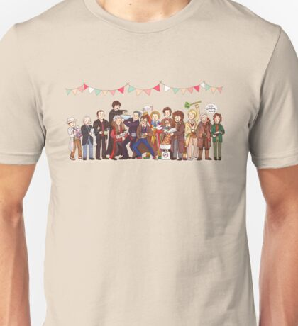 The Great Doctor Bake-Off Unisex T-Shirt