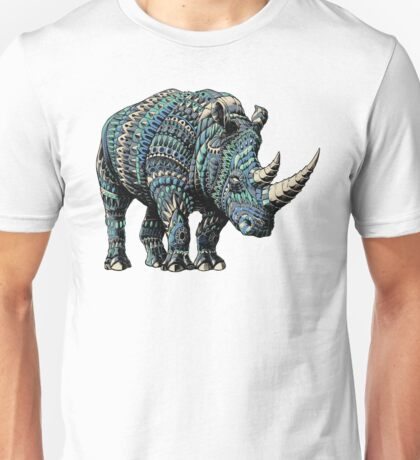 Rhino (Color Version) Unisex T-Shirt