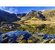 Lake at Dawn Photographic Print