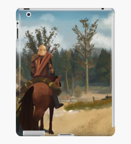 Witcher 3 Landscape Painting iPad Case/Skin